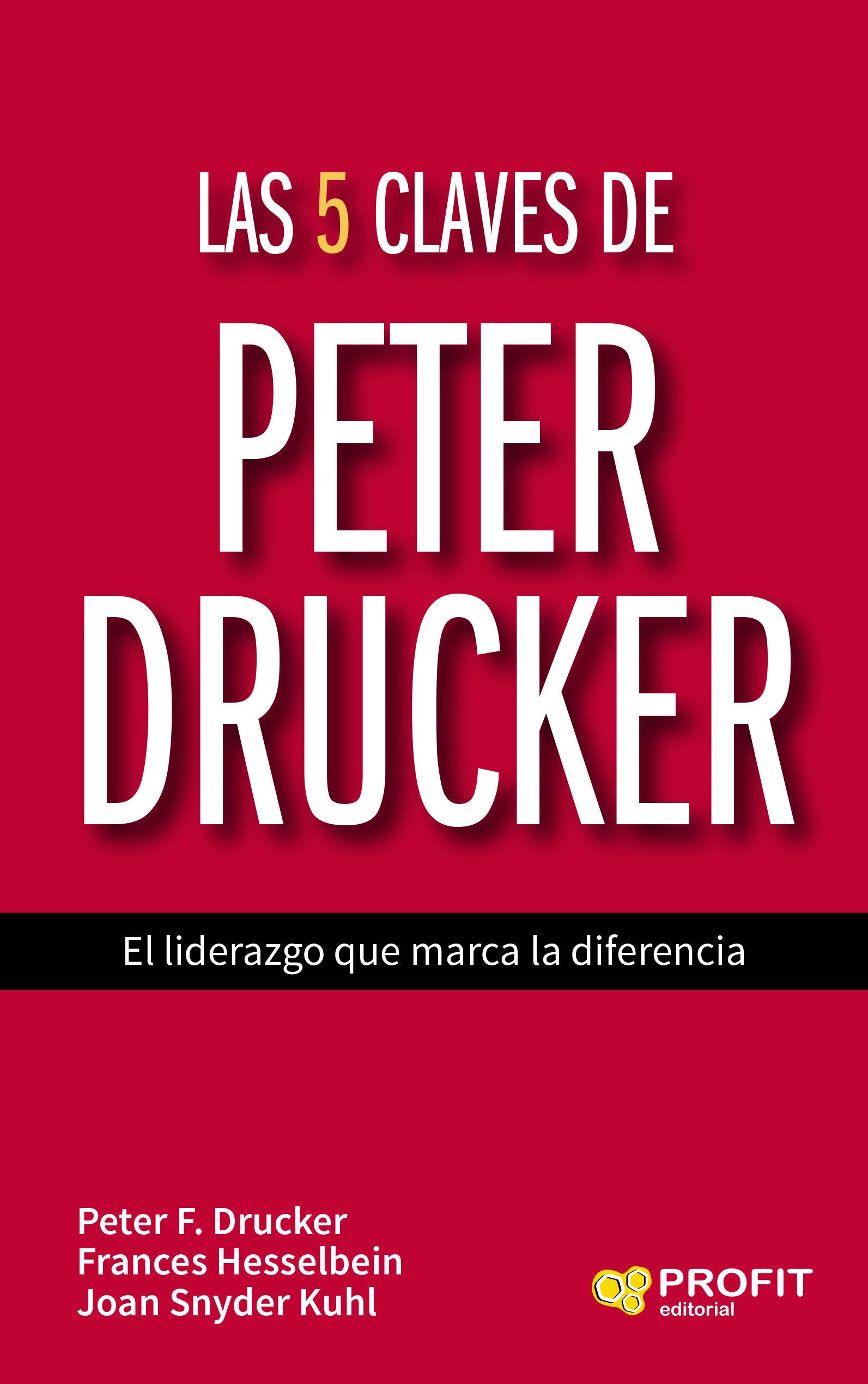 Resultado de imagen para Las 5 claves de Peter Drucker: el liderazgo que marca la diferencia
