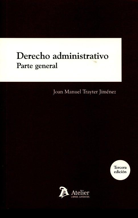 derecho administrativo-j.m. trayler jimenez-9788416652471