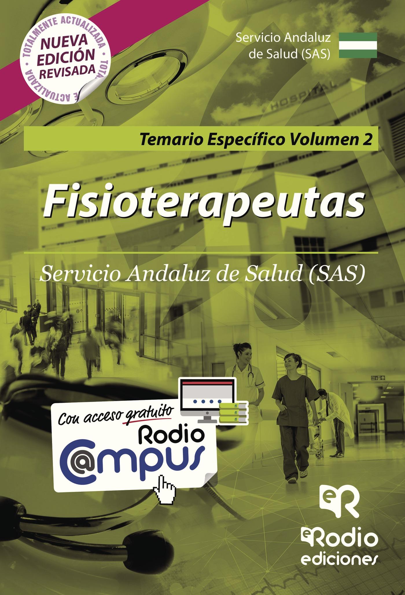 fisioterapeutas del sas: temario especifico (vol. 2)-9788416963171