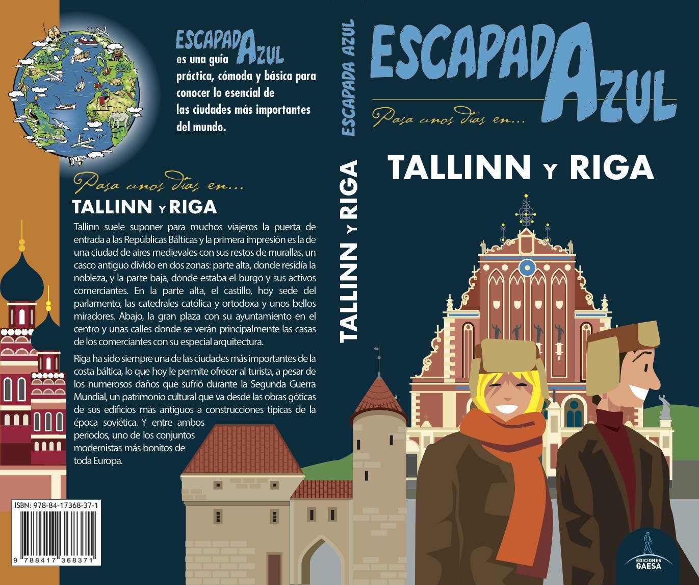 tallinn y riga 2018 (escapada azul) 3ª ed.-angel ingelmo sanchez-9788417368371