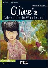 Alice S: Adventures In Wonderland (reading And Training) (incluye Audio-cd) (beginner) por Lewis Carroll