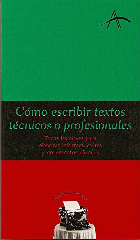 Como Escribir Textos Tecnicos O Profesionales por Vv.aa. epub