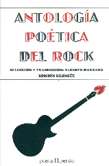antologia poetica del rock-alberto manzano-9788490020371