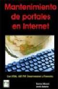Mantenimiento De Portales En Internet por Vv.aa. epub