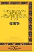 Rimas Humanas Y Divinas Del Licenciado Tome De Burguillos por Felix Lope De Vega epub