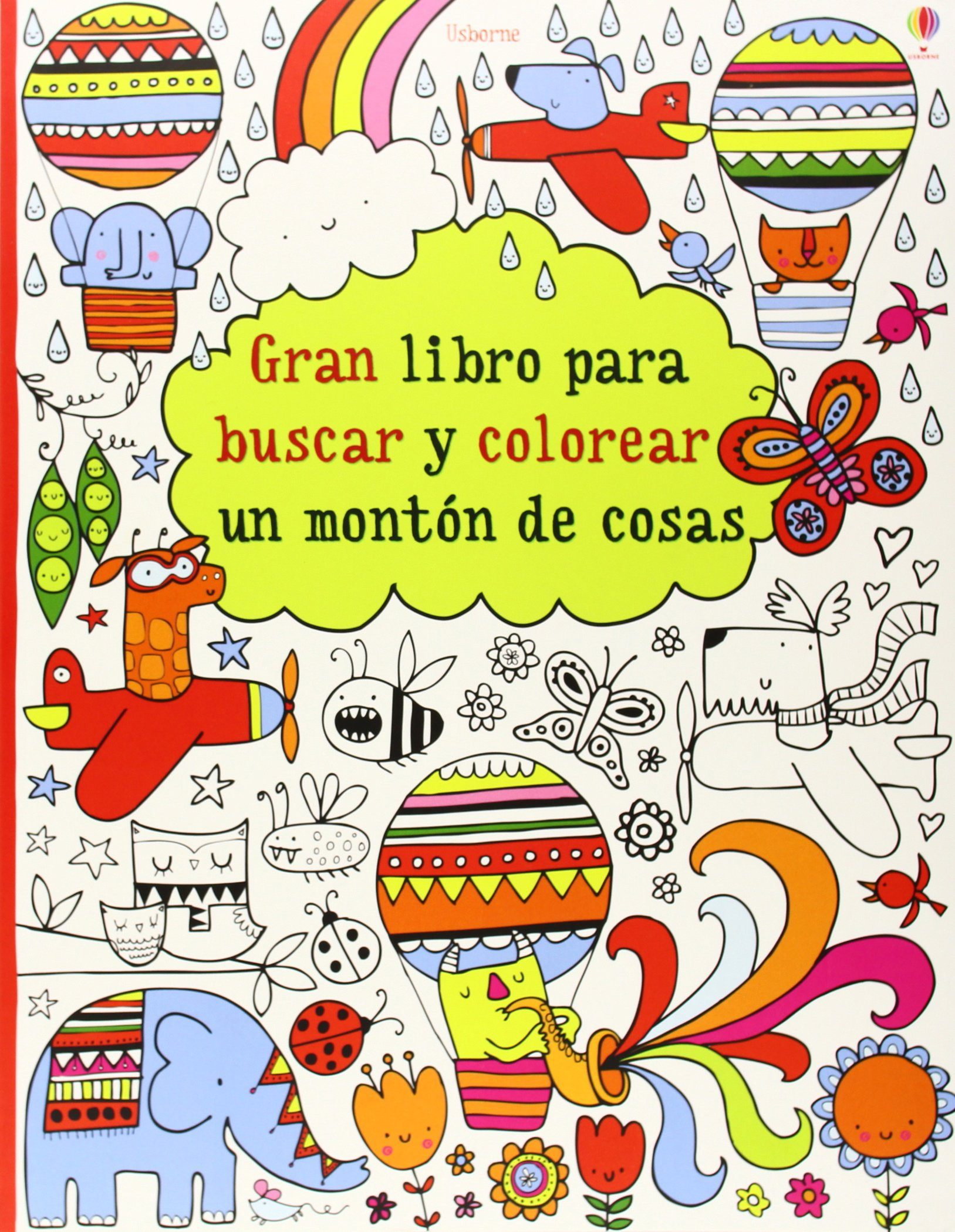 GRAN LIBRO PARA BUSCAR Y COLOREAR UN MONTON DE COSAS | VV.AA ...
