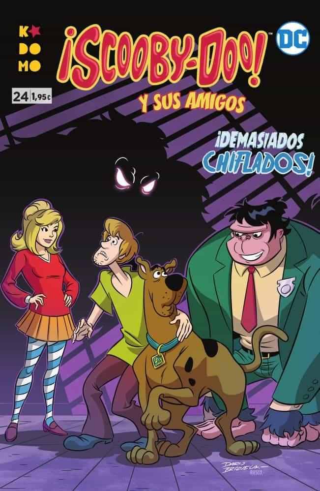 Scooby-doo Y Sus Amigos Nº 24 por Sholly Fisch