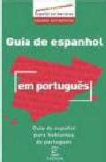 Guia De Espanhol Em Portugues = Guia De Español Para Hablantes De Portugues por Vv.aa. epub