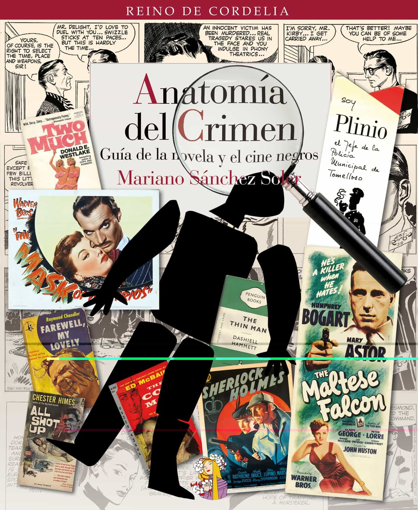 ANATOMIA DEL CRIMEN: GUIA DE LA NOVELA Y EL CINE NEGROS | MARIANO ...