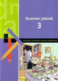 Ikusmen Jokoak 3 por Vv.aa. epub