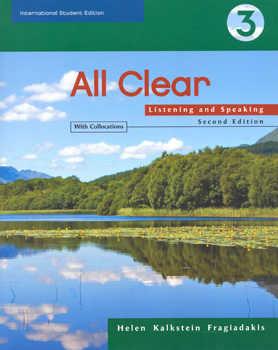 All Clear 3 2e (ise): Listening And Speaking por Helen Kalkstein Fragiadakis epub