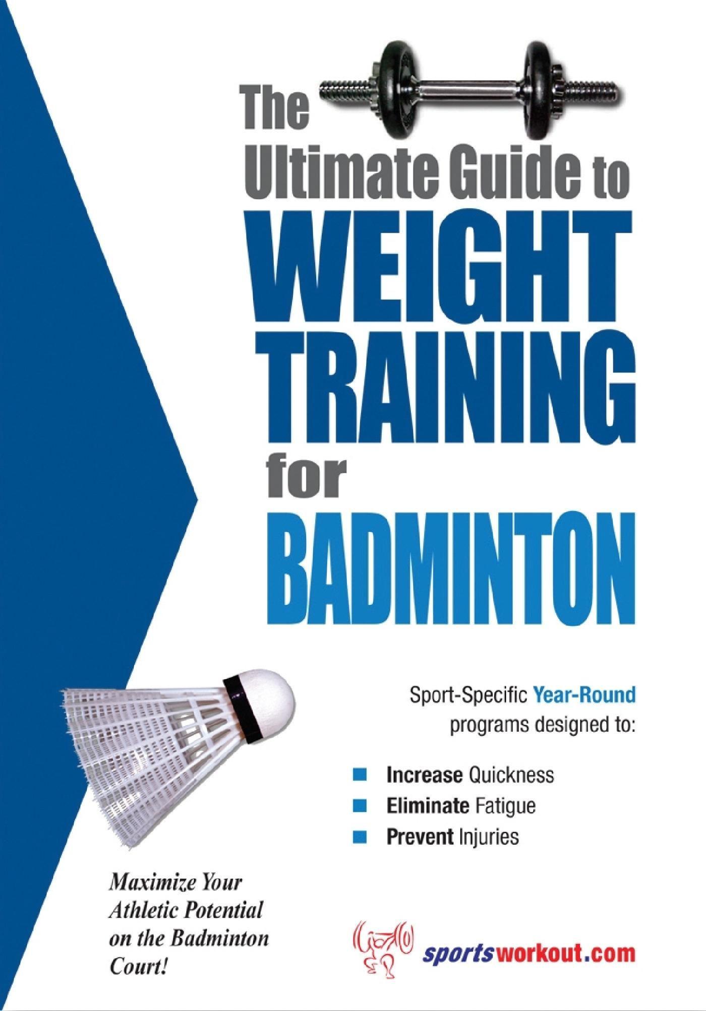Badminton Training Ebook