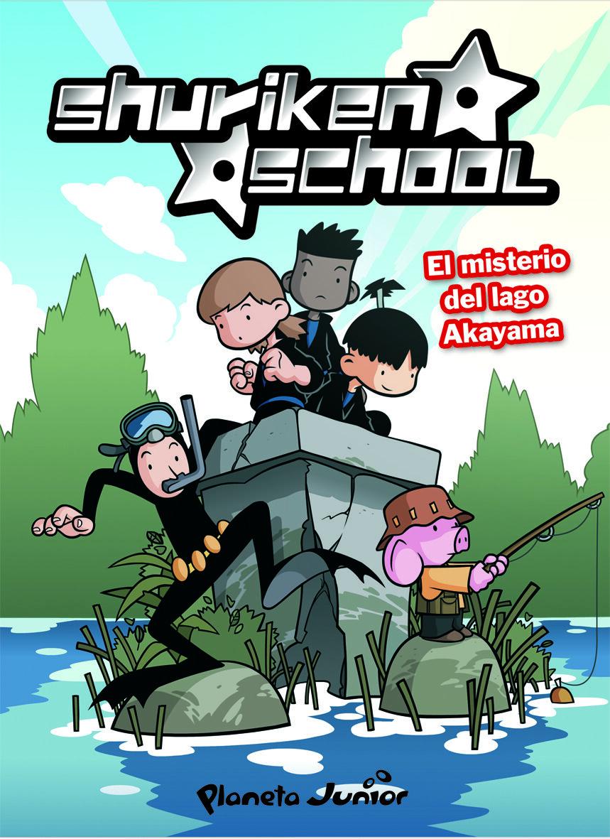 Shuriken School 2: El Misterio Del Lago Akayama por Zinkia