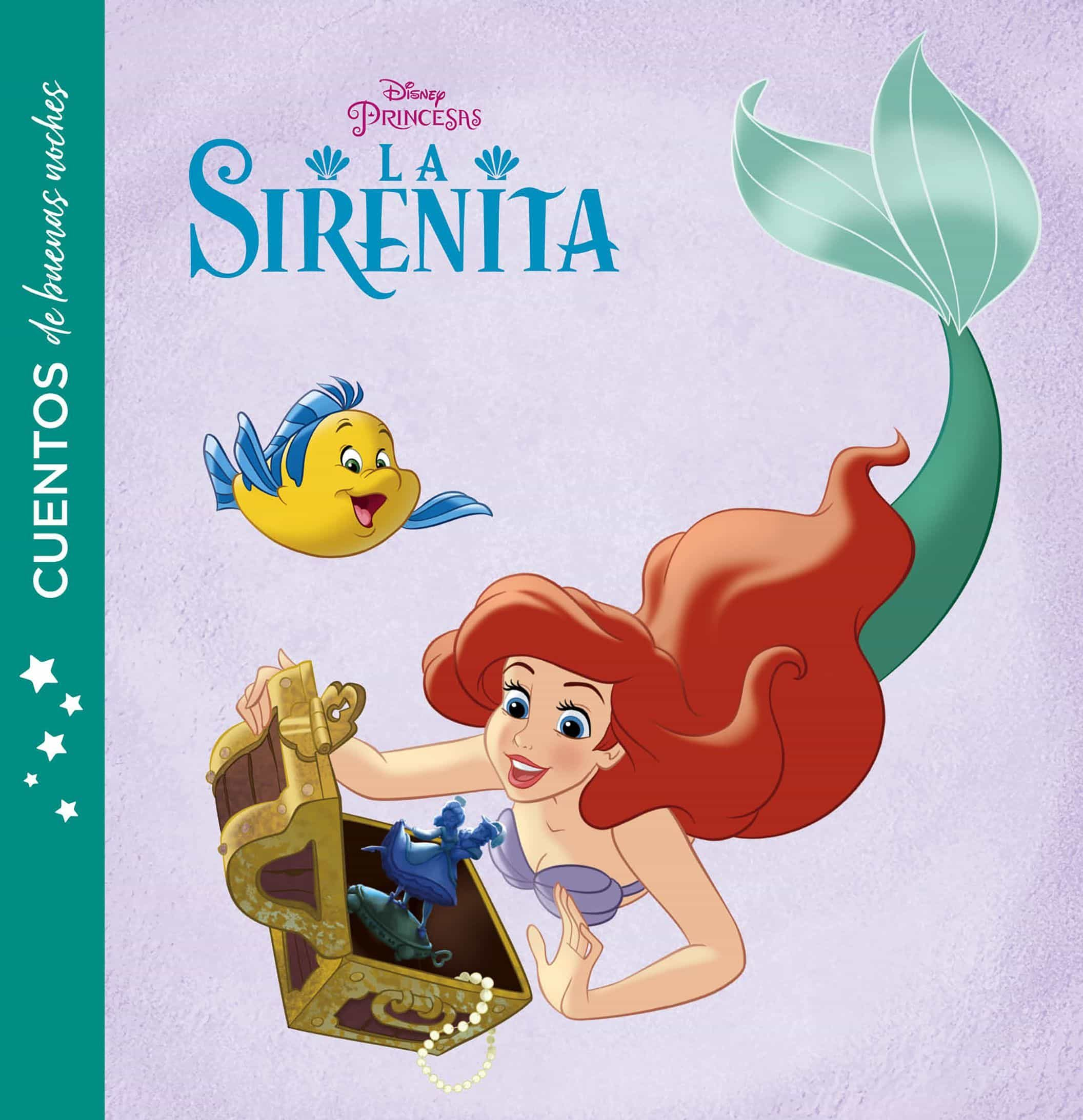 La Sirenita (cuentos De Buenas Noches) por Disney