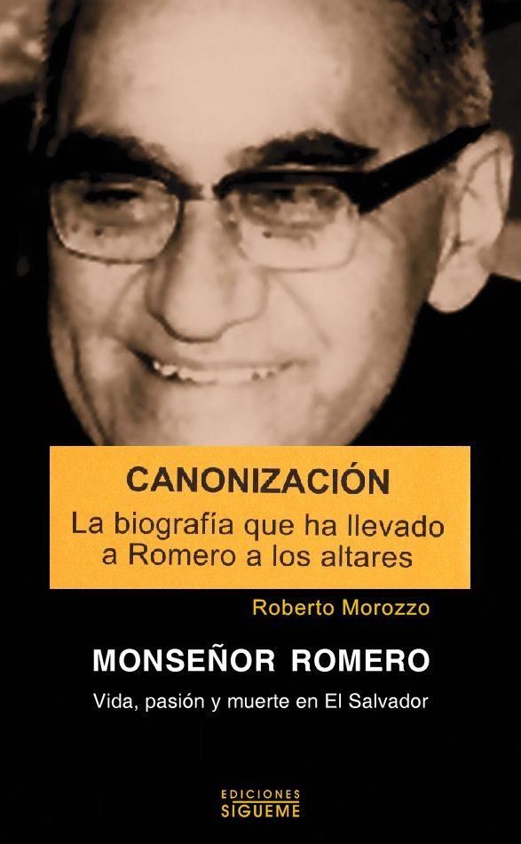 monseñor romero, vida, pasion y muerte-roberto morozzo-9788430117291
