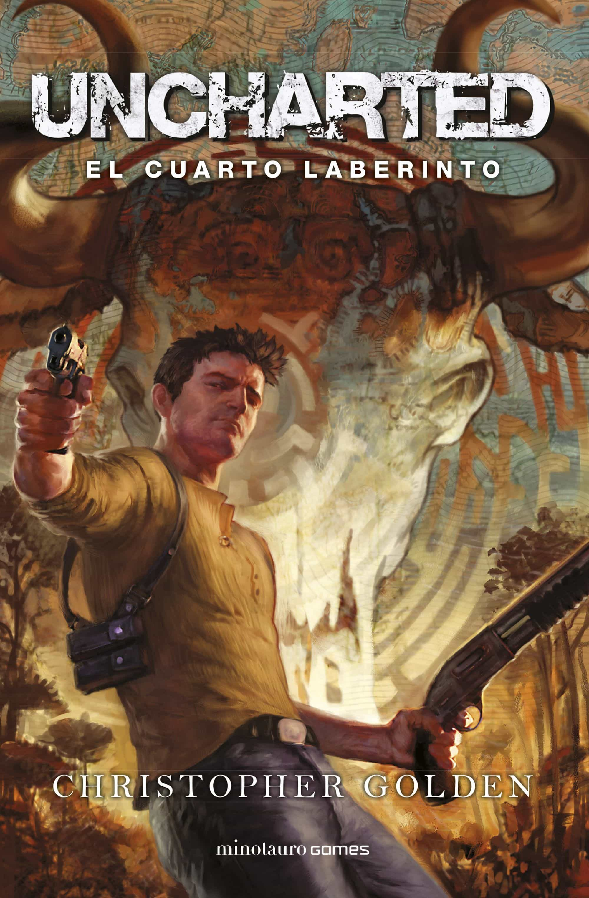 uncharted: el cuarto laberinto-christopher golden-9788445005491