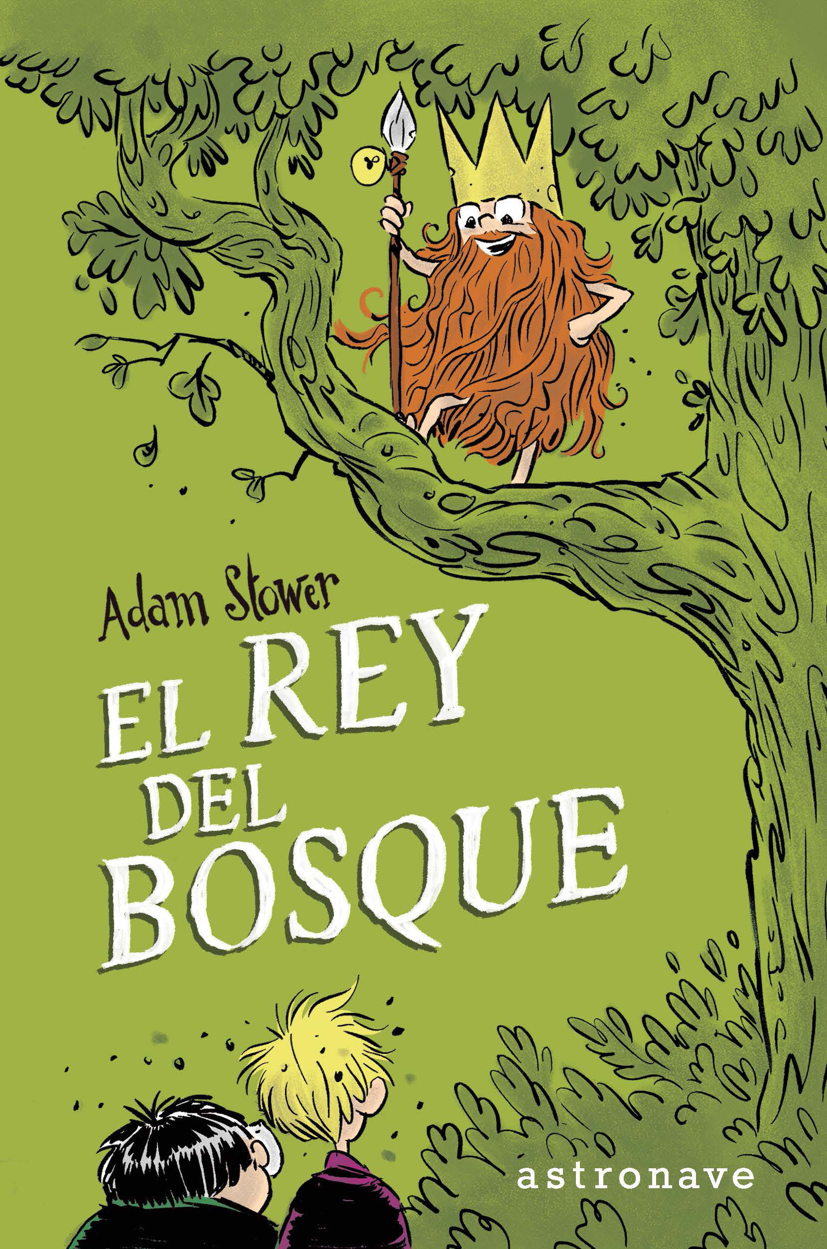 El Rey Del Bosque por Adam Stower