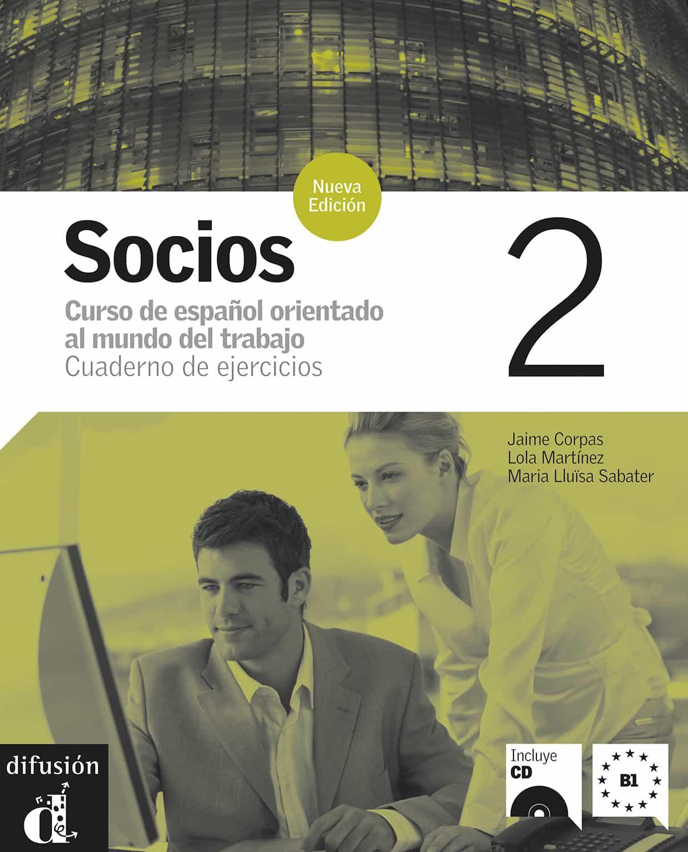 socios 2 n.e.cuaderno de ejercicios (incluye cd)-9788484434191