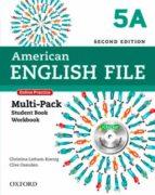 american english file 5 multipack a 2ed-9780194776301