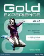 gold experience a2 students  book with dvdrom and myenglishlab (examenes) 9781447961901