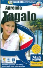 talk now! learn tagalo (beginners) (cd-rom)-9781843520801