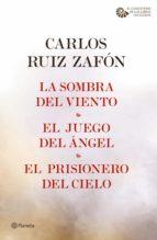 la sombra del viento + el juego del ángel + el prisionero del cielo (pack) (ebook)-carlos ruiz zafon-9788408164401