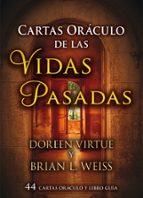 cartas oraculo de las vidas pasadas: 44 cartas oraculos y libro guia-doreen virtue-9788415292401