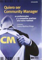 quiero ser community manager (ebook)-chema martinez-priego-9788415986201
