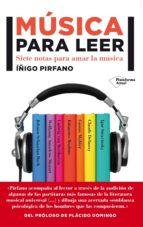 música para leer iñigo pirfano laguna 9788416256501