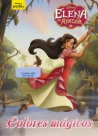 elena de avalor: colores magicos. colorear con ceras-9788416913701
