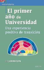 el primer año de universidad bill johnston 9788427719101
