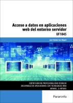 uf1845   acceso a datos en aplicaciones web del entorno servidor 9788428397001