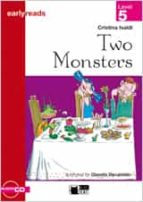 two monsters. book + cd cristina ivaldi 9788431684501