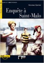 enquête à saint malo. livre + cd 9788431693701