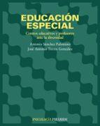 educacion especial: centros educativos y profesores ante la diver sidad-jose antonio torres gonzalez-9788436816501