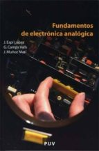 fundamentos de electronica analogica jose espi lopez 9788437065601