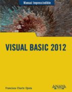 visual basic 2012 (manual imprescindible)-francisco charte-9788441533301