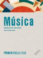 cuaderno musica: cuaderno de ejercicios + cd (1º 2º eso) 9788446027201