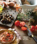 salsas: mas de 300 recetas saludables y sabrosas karin leiz 9788448008901