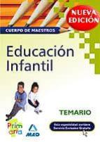 TEMARIO EDUCACION INFANTIL CUERPO DE MAESTROS