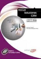 manual soluciones crm. formacion para el empleo saul ayuso sahogar 9788468122601