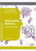 cuerpo de maestros. educación musical. cómo elaborar la programación didáctica en 25 días-9788468143101