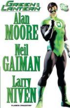 green lantern neil gaiman alan moore larry niven 9788468474601