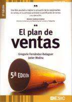 el plan de ventas (5ª ed.) gregorio fernandez balaguer javier molina 9788473565301