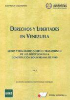 derechos y libertades en venezuela, tomo i-juan manuel goig martinez-9788479915001