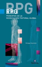 rpg: principios de la reeducacion postural global-philippe emmanuel souchard-9788480198301
