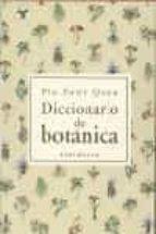 diccionario de botanica pio font quer 9788483073001