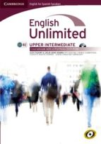 english unlimited upper-intermediate coursebook with e-portfolio spanish edition-leslie anne hendra-9788483236901