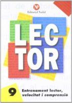 entrenament lector, velocitat i comprensió nº 9 letra d´imprenta c.m. 9788486545901