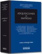adquisiciones de empresas  (4ª ed.)-jose m alvarez arjona-9788490145401